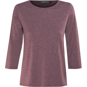 Meru Skara 3/4 Sleeve Shirt Dam crushed violet melange